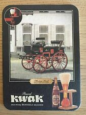KWAK - Bière Shooting Break Coach Collection - Lot 1 Dessous Verre / Sous Bocks