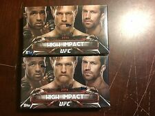 2016 TOPPS UFC HIGH IMPACT BOX LOT OF 2 1 AUTOGRAPH PER BOX ROUSEY MCGREGOR MORE