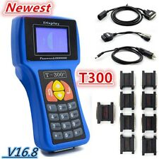 T300 V Latest 16.8 Car Key Programmer -Transponder Decoder T-CODE T300 English