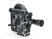 Bolex Reflex H8 Rex4 Movie Camera with Som Berthiot 8-40mm Zoom Lens