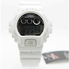 Casio G-Shock DW-6900NB-7 Men Metallic White Resin Strap Watch DW-6900NB-7DR