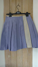 Maliparmi Pleated Silk Skirt