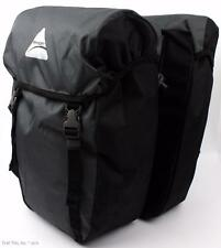 Axiom Seymour DLX 30 30L Rear Panniers Saddle Bags Pair Commuter Touring Bicycle