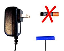 AAA Battery Eliminator Power Adapter- 1.5VDC 1x AAA -Universal Fit / AC wall pwr