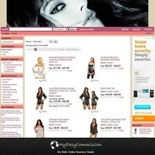 Adult Apparel Website FREE Domain Name Automated Amazon Affilliate Adsense