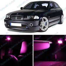 Pink Interior LED Package For BMW 3 Series E46 1999-2005 (9 Pieces) #802