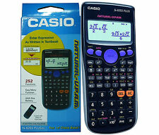 SCIENTIFIC CALCULATOR 252 CASIO FX82ES PLUS  Functions Combination & Permutation