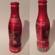 Coca Cola Aluminum bottle  Christmas 2016 Romania