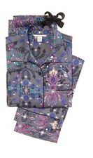 VICTORIA SECRET THE AFTER HOURS SATIN PAJAMA PJ WOMENS XS DARK FLORAL SOLD OUT