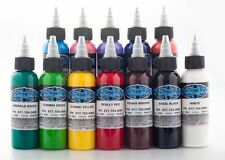 Fusion Tattoo Ink 12 Piece Color Set Basic 1oz Set
