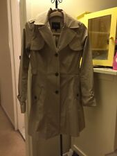 Cole Haan Trench Coat Jacket Size XS