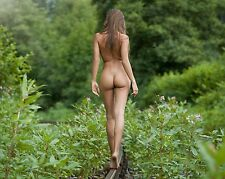 Nude Picture Photo of Female Girl Woman Bare Butt Naked Photograph