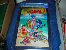 BOMB QUEEN PRESENTS: ALL GIRL COMICS #1 CGC 9.8 PINUPS BY JIM LEE~PORTACIO PLUS2