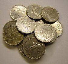 1942 to 1977 France 1 Franc Coin Your choice of 3 from list