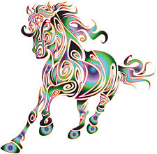 Horse Wall/ Car Decal Vinyl Sticker, SMALL, Easily Removable......