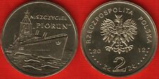 "Poland 2 zlote 2012 ""Polish Ships – ""Piorun"" Destroyer"" UNC"
