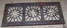 """Antique Central Licking Stove Works Newark Ohio TOP GRATE Steampunk 13.5"""" x 29"""""""