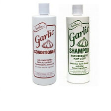 Nutrine Garlic Unscented Shampoo & Conditioner Set 16 oz each - Ships Fast!!
