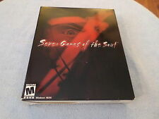 Seven Games of the Soul  (PC, 2000) - CRYO - BIG BOX - WINDOWS 95/98