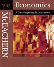 Economics : A Contemporary Introduction by William A. McEachern (2005,...