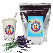 Lavender Boba/ Bubble Tea Powder by Buddha Bubbles Boba (1 Kilo | 2.2 Pounds)