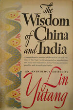 Lin Yutang~THE WISDOM OF CHINA AND INDIA~1ST/DJ~NICE COPY