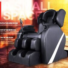 Luxaury Full Body Zero Gravity Shiatsu Heat Massage Chair Recliner + Foot Roller