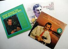 SLIM WHITMAN Lot of 3 SEALED LPs Country IRISH SONGS Christmas Album RED RIVER