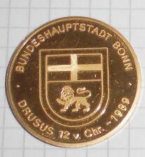 Recuerdo medalla ALT federal principal ciudad bonn druso 12v.chr-1989 DB Estación Central