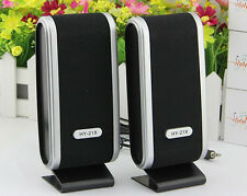 New USB Power Stereo Music Speaker System for PC Laptop Cellphone Sumsung Hot