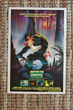 Swamp Thing Lobby Card Movie Poster Wes Craven