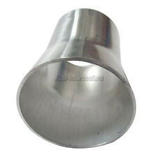"""CXRacing 2mm Thick 3"""" Long Weld On Aluminum Reducer Pipe 2.5"""" to 2"""" OD"""