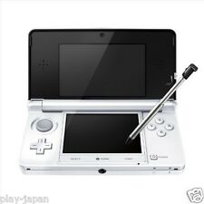 Exc Nintendo 3DS Ice White System Console Body Adapter Only Japan ver Japanese
