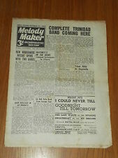 MELODY MAKER 1945 #640 OCT 27 JAZZ SWING AL TABOR LESLIE HUTCHINSON JACK WALLACE