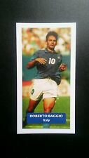 ITALY - JUVENTUS - ROBERTO BAGGIO Score UK football trade card