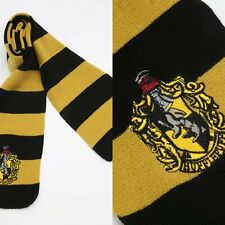 Top Harry Potter Hufflepuff Schal Halstuch Winter Warm  Kostüm Cosplay
