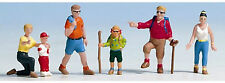 Noch 36870 - 6 x Pre-Painted Wanderers (Hikers) Figures N Gauge -Tracked 48 Post