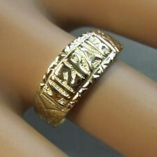 9 ct gold second hand old testament ring