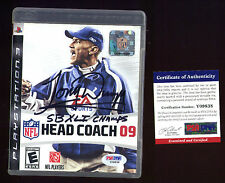 Tony Dungy Auto Signed Head Coach 09 PS3 Playstaion 3 PSA/DNA Authentic HOF?