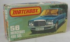 Repro Box Matchbox Superfast Nr.56 Mercedes 450 SEL