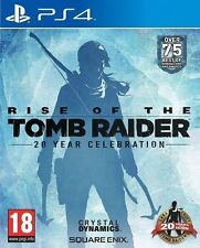 RISE OF THE TOMB RAIDER - PS4 - NEW - FREE UK POST - IN STOCK NOW!!!