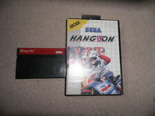 Master System - hang on  - boxed