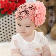 Baby Haarschmuck Lace Blume Spitze Haar Band Stirnband Kopfband Mädchen Schmuck