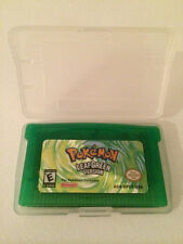Pokemon Leaf Green Version GBA LeafGreen Nintendo Gameboy Advance Game Boy
