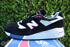 NEW BALANCE 998 SZ 9.5 CONNOISSEUR PAINTER MADE IN USA BLACK VIOLET M998BK