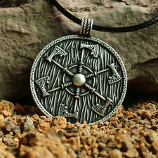 Thunder shield of Perun Slavic Axes gothic Pagan Pendant men Amulet Axe Necklace