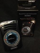 Seiko SQ60 Quartz Multi Tempo Metronome*