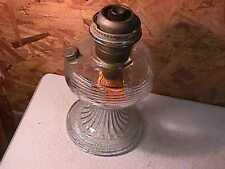 Antique Aladdin Crystal Beehive Kerosene Lamp