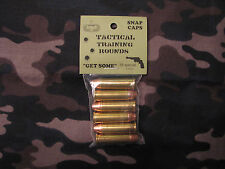38 SPECIAL TACTICAL TRAINING ROUNDS,  SET OF 6 SNAP CAPS