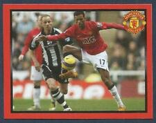 PANINI MANCHESTER UNITED 2008/09 #180-NANI IN ACTION V NEWCASTLE